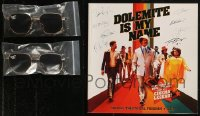 8h0018 LOT OF 3 DOLEMITE IS MY NAME PROMO SUNGLASSES AND PROGRAM BOOK 2019 Eddie Murphy, cool!