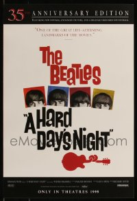 8h0008 LOT OF 166 UNFOLDED R99 HARD DAY'S NIGHT 14X20 MINI POSTERS 1999 The Beatles!