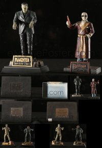 8h0020 LOT OF 4 SIDESHOW 1999-00 UNIVERSAL MONSTERS STATUES 1999-2000 Frankenstein, Mummy & more!
