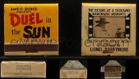 8h0021 LOT OF 25 DUEL IN THE SUN PROMO MATCHBOOKS 1947 never used in the original box, ultra rare!