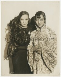 8k0384 SHANGHAI EXPRESS 8x10.25 still 1932 best portrait of Marlene Dietrich & Anna May Wong!