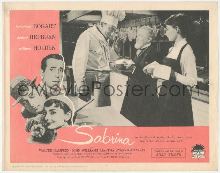 eMoviePoster.com: 8k1162 SABRINA LC #5 R1965 Audrey