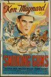 070 SMOKING GUNS ('34) linen 1sheet