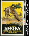 062 SMOKY ('33) paperbacked 1sheet
