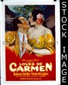 076 LOVES OF CARMEN ('27) linen 1sheet