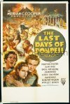 049 LAST DAYS OF POMPEII ('35) paperbacked 1sheet