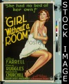 006 GIRL WITHOUT A ROOM paperbacked 1sheet