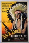 065 WHITE EAGLE ('32) paperbacked 1sheet