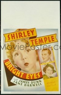 #311 BRIGHT EYES WC '34 cute Shirley Temple!