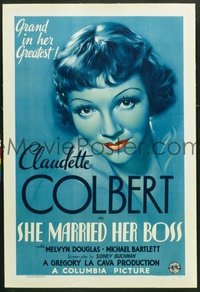 326 SHE MARRIED HER BOSS paperbacked 1sheet