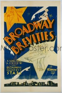 104 BROADWAY BREVITIES ('35) 1sheet