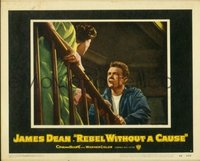 2061 REBEL WITHOUT A CAUSE lobby card #7 '55 Dean confronts mom!