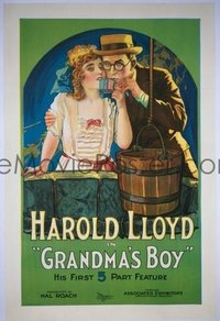 414 GRANDMA'S BOY linen 1sheet
