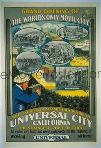 340 UNIVERSAL CITY CALIFORNIA linen 1sheet