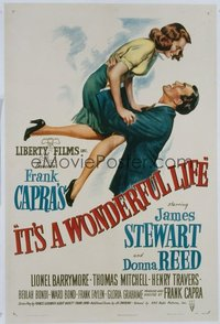 080 IT'S A WONDERFUL LIFE linen 1sheet