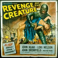 v054 REVENGE OF THE CREATURE  6sh '55 classic monster!