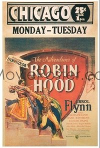 584 ADVENTURES OF ROBIN HOOD paperbacked WC