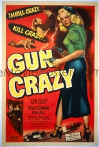 GUN CRAZY ('50) 1sheet