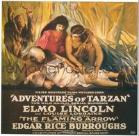 655 ADVENTURES OF TARZAN linen 6sh