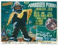 #172 FORBIDDEN PLANET style B 1/2sh '56 Robby
