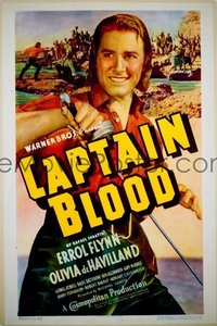 581 CAPTAIN BLOOD ('35) linen 1sheet