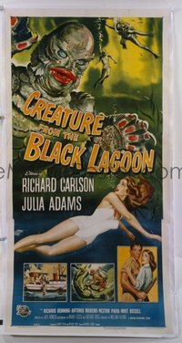 243 CREATURE FROM THE BLACK LAGOON linen 3sh