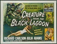 187 CREATURE FROM THE BLACK LAGOON UF 1/2sh
