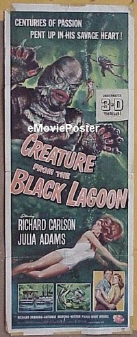 #029 CREATURE FROM THE BLACK LAGOON insert 54