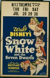 031 SNOW WHITE & THE SEVEN DWARFS WC