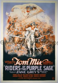 RIDERS OF THE PURPLE SAGE ('25) 1sheet