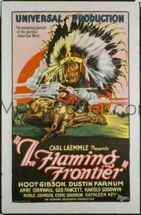 229 FLAMING FRONTIER ('26) paperbacked 1sheet