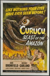 050 CURUCU, BEAST OF THE AMAZON 1sheet