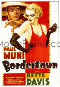 110 BORDERTOWN paperbacked 1sheet