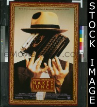 #2675 NAKED LUNCH DS 1sh '91 Cronenberg