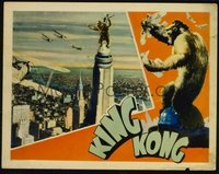 144 KING KONG ('33) #2, on tower LC