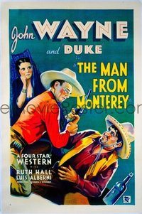 098 MAN FROM MONTEREY linen 1sheet