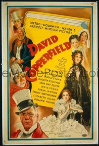 122 DAVID COPPERFIELD ('35) linen 1sheet
