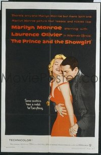 290 PRINCE & THE SHOWGIRL 1sheet