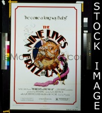 #067 9 LIVES OF FRITZ THE CAT 1sh '74 AIP