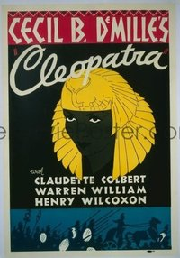 324 CLEOPATRA ('34) linen, Leader Press 1sheet