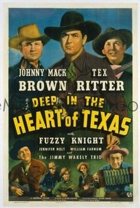 321 DEEP IN THE HEART OF TEXAS 1sheet