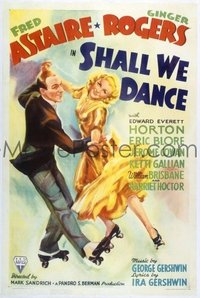 #309 SHALL WE DANCE 1sheet37 Astaire & Rogers