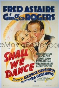108 SHALL WE DANCE ('37) linen 1sheet