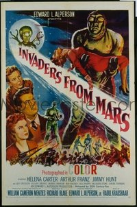 #174 INVADERS FROM MARS 1sheet53 Hunt, Carter