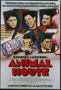 v310 ANIMAL HOUSE  English 1sh '78 portrait style!