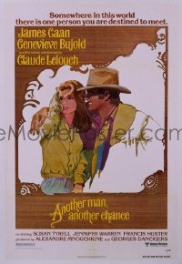 #036 ANOTHER MAN ANOTHER CHANCE 1sh '77 Caan