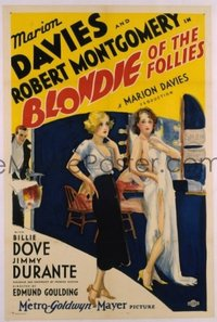 040 BLONDIE OF THE FOLLIES linen 1sheet