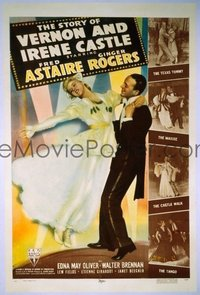 110 STORY OF VERNON & IRENE CASTLE linen 1sheet
