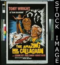 #078 AMAZING MR CALLAGHAN 1sh '60 Wright, Rey