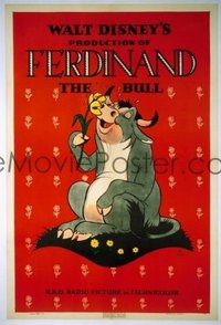 271 FERDINAND THE BULL linen 1sheet